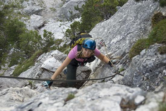 Klettersteig Ehrwald : Ehrwalder klettersteige seebener tajakante coburger